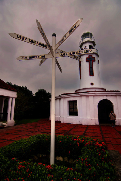 Spanish lighthouse, Corregidor