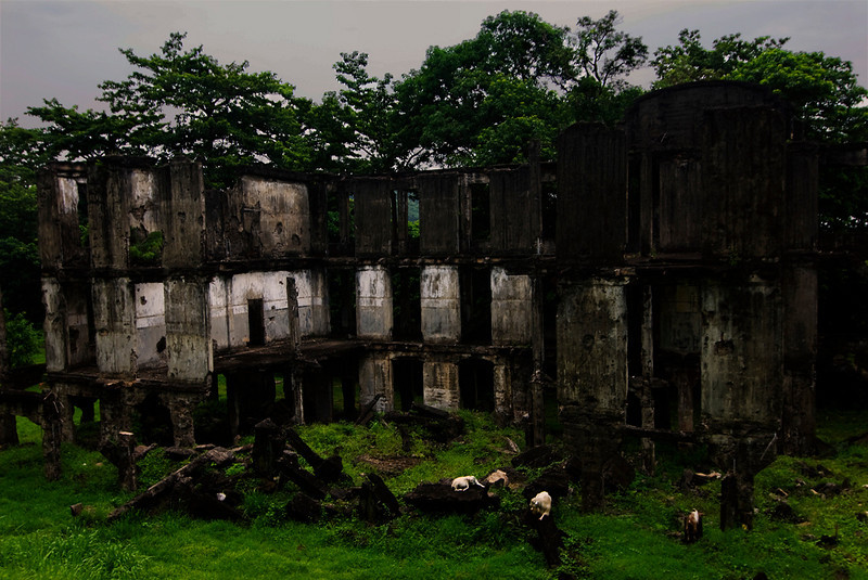 Middleside barracks, Corregidor