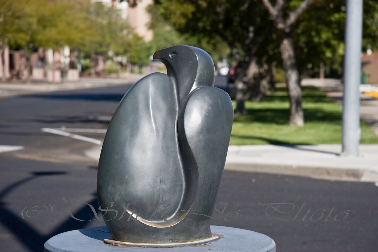 Hawk or Eagle? Art on the Corner, 4th &  White, Grand Junction, CO.