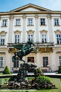 Pegasusbrunnen, Mirabellgarten, Salzburg, Austria