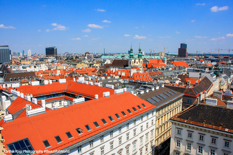 Vienna, rooftops, Austria