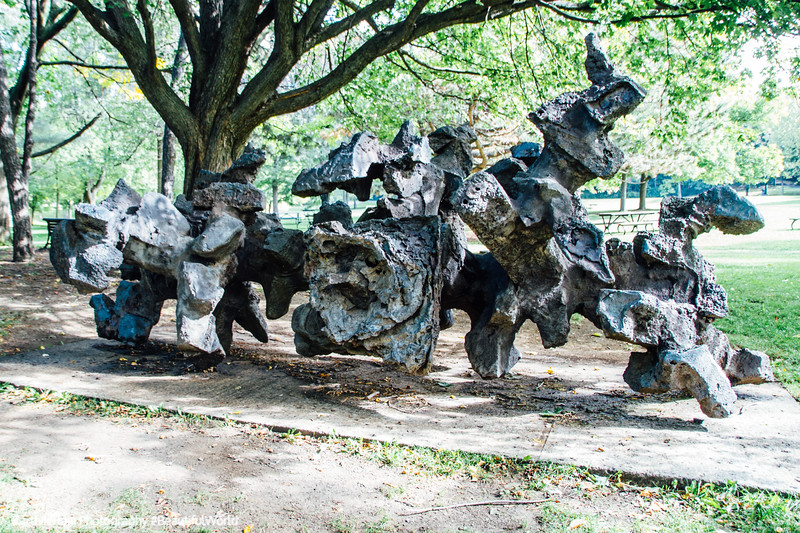 Sculpture, Mont-Royal, Montreal, Canada