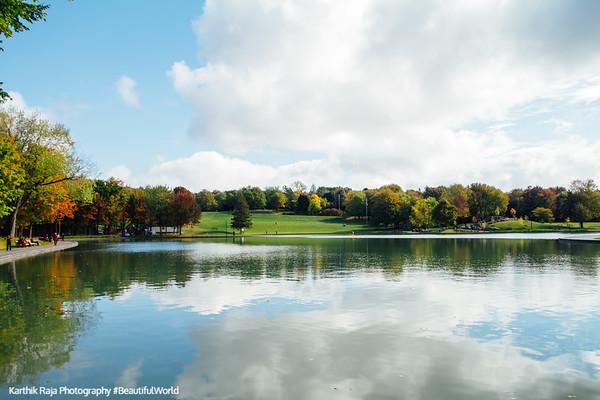 Beaver Lake, Mont-Royal, Montreal, Canada
