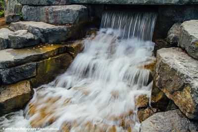 Waterfalls, Mont-Royal, Montreal, Canada