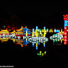 Night at the Chinese Garden, Botanical Garden, Montreal, Canada