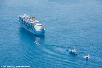 Cruise Ship, Adriatic Sea, Dubrovnik, Croatia