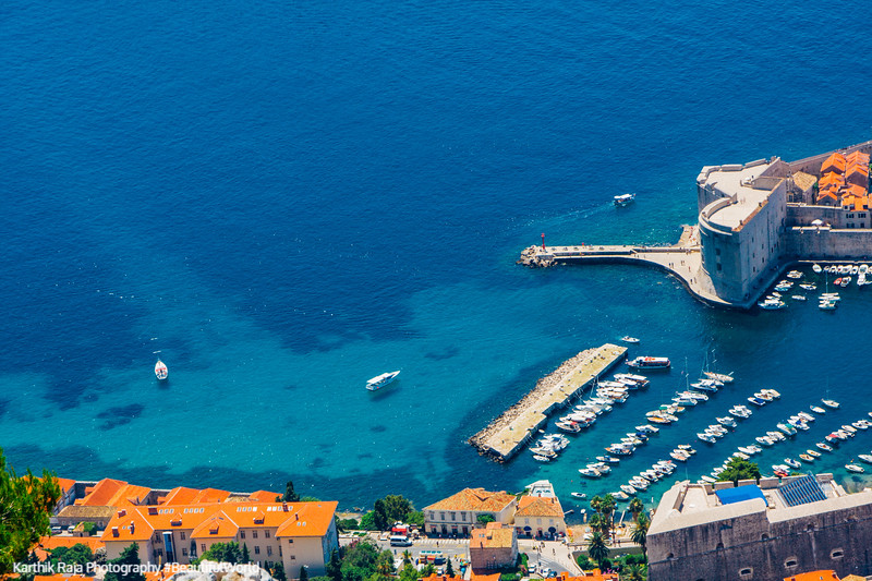 City Port, Blue waters, Dubrovnik, Croatia