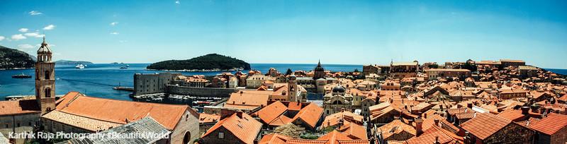 Panorama, Dubrovnik, Croatia