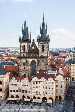 Tyn Church, Staré Mìsto, Prague, Czech Republic