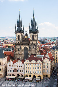 Tyn Church, Staré Mìsto, Prague, Czech Republic