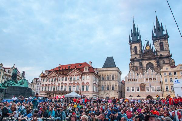 Old Town - World Cup Soccer Fever, Prague, Czech Republic