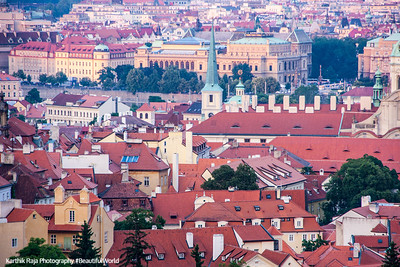 Rooftops, Prague, Czech Republic