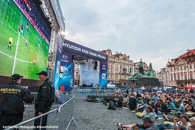 Old Town - World Cup Soccer Fever, Prague, Czech Republic