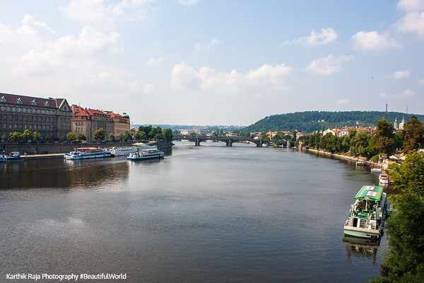 Vltava River, Prague, Czech Republic