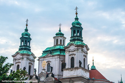 St. Nicholas' Church, Old Town, Prague, Czech Republic