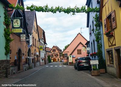 Itterswiller, Route du Vin, Alsace, France