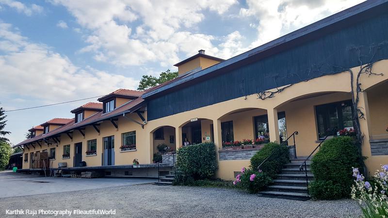 Robert Blanck winery, Obernai, Route du Vin, Alsace, France