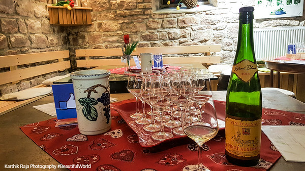Robert Blanck winery, Obernai, Route du Vin, Alsace, France