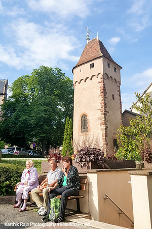 Obernai, Route du Vin, Alsace, France