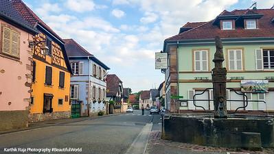 Nothalten, Route du Vin, Alsace, France