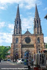 Eglise Saints Pierre et Paul, Obernai, Route du Vin, Alsace, France