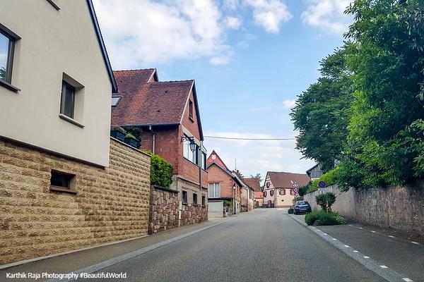 Eichhoffen, Route du Vin, Alsace, France