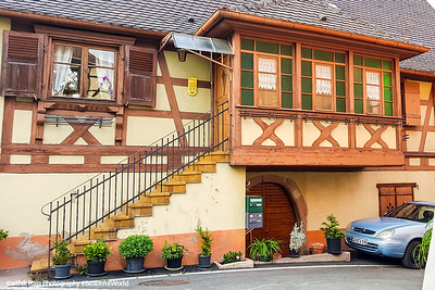 Blienschwiller, Route du Vin, Alsace, France