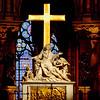 Inside the Notre Dame de Paris, Paris, France