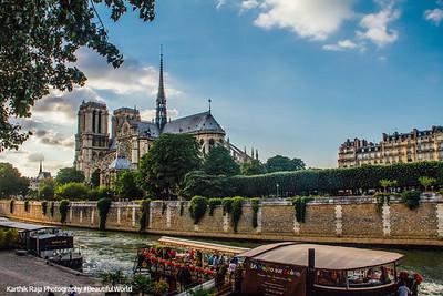 Notre-Dame, Seine, Paris, France