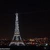 Eiffel Tower in Sparkles, Paris, France