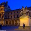 Statue of Louis XIV, the Sun King, Paris, France