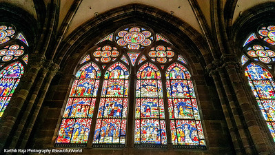 La cathédrale Notre-Dame de Strasbourg, France
