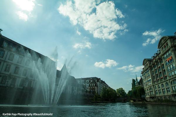 Fountain, Strasbourg, France