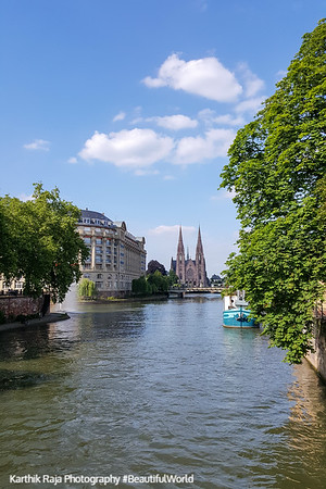 Eglise Saint Paul, Ill River, Strasbourg, France