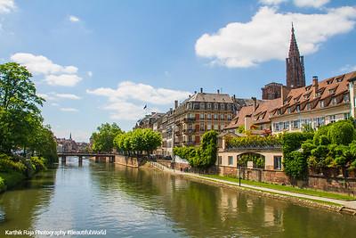 Ill River, Grande Île (Grand Island), Strasbourg, France