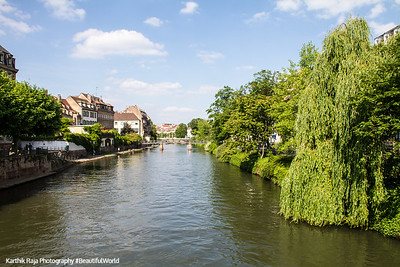 L'lll river, Strasbourg, France