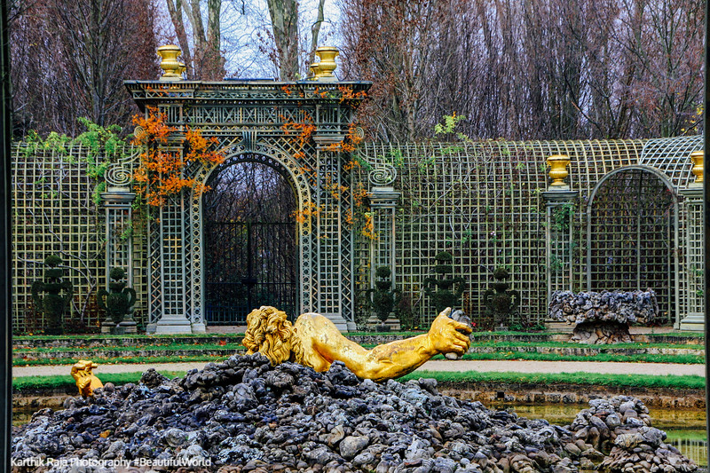 The Encelade Fountain by Gaspard Marsy, 1675-1677, Versailles, France