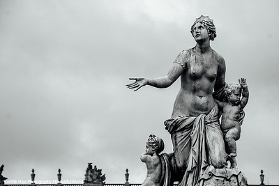 Goddess Latona., Palace of Versailles, Versailles, France