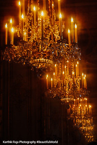 Never ending lights, Palace of Versailles, Versailles, France