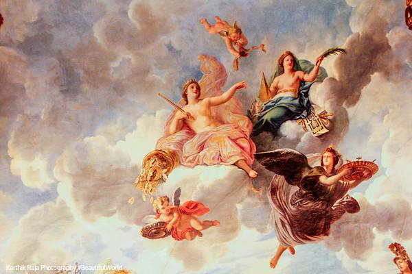 Cupid, Palace of Versailles, Versailles, France