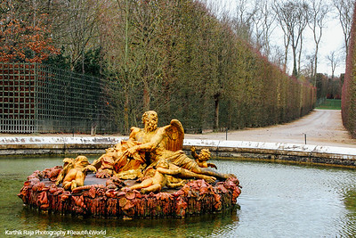 Saturn Fountain, Palace of Versailles, Versailles, France