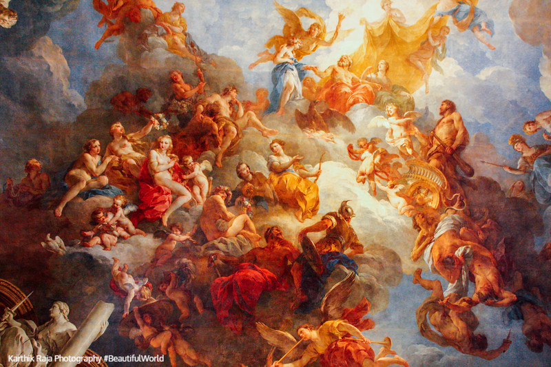 Hercules enters the Kingdom of God, Palace of Versailles, Versailles, France
