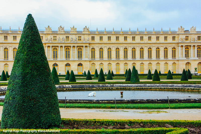 The Water Parterres - Palace of Versailles, Versailles, France
