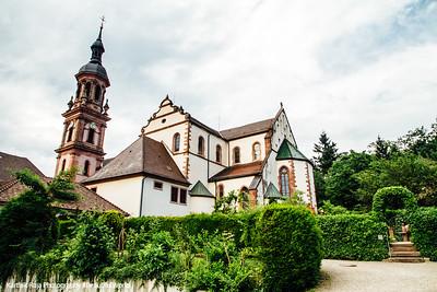 Stadtkirche Sankt Marien, Gengenbach, Black Forest, Germany
