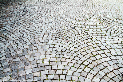 Cobblestone, Gengenbach, Black Forest, Germany