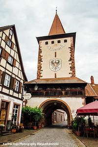 Obertorturm, Gengenbach, Black Forest, Germany