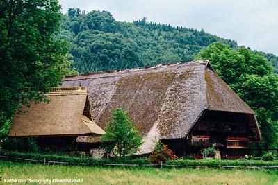 Vogtsbauernhof, Storhandwerk, 1612, Open-Air Museum, Gurach, Black Forest, Germany