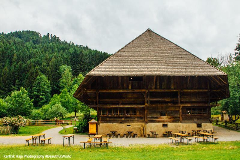 Falkenhof, 1737, Vogtsbauernhof, Open-Air Museum, Gurach, Black Forest, Germany