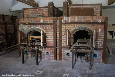 Crematorium, Concetration Camp, Dachau, Germany