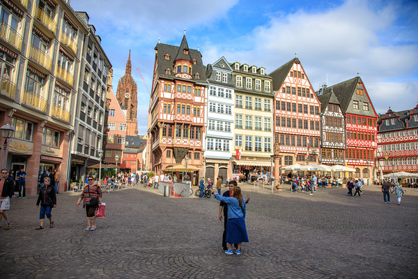 Romerberg, Frankfurt, Germany